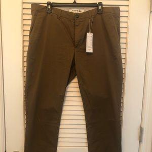 Lacoste - Slim Fit Dark Renaissance Brown 48/38